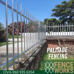 palisade fencing fenceworks