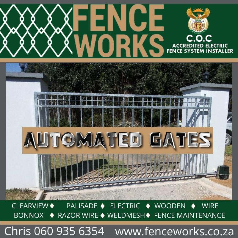 fenceworks automated gates