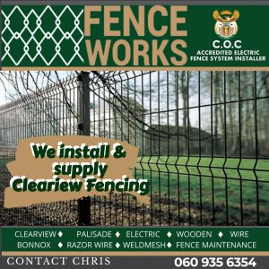 fenceworks clearview fencing