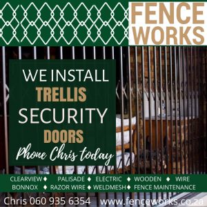 fenceworks trellis doors
